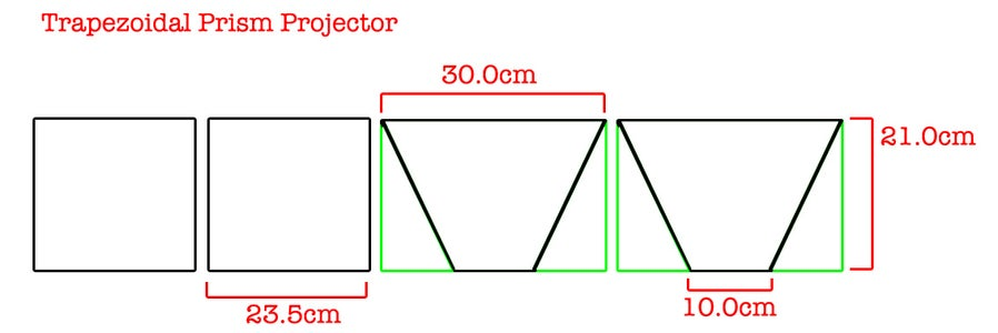 Trapezoidal Prism Projector