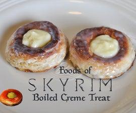 Foods of Skyrim: Boiled Creme Treat