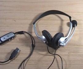 USB Headphone Hack!