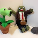 Plants vs. Zombies Interactive Plush Toys!