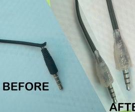 Fix Your Broken Ear Phone Jack (The Hot Glue Trick)