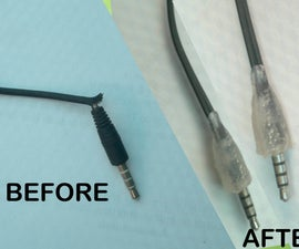 Fix Your Broken Ear Phone Jack (The Hot Glue Trick)
