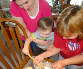 Pasty Making with the Whole Family!