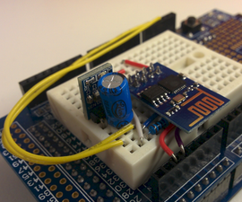 Cheap Arduino WiFi Shield With ESP8266