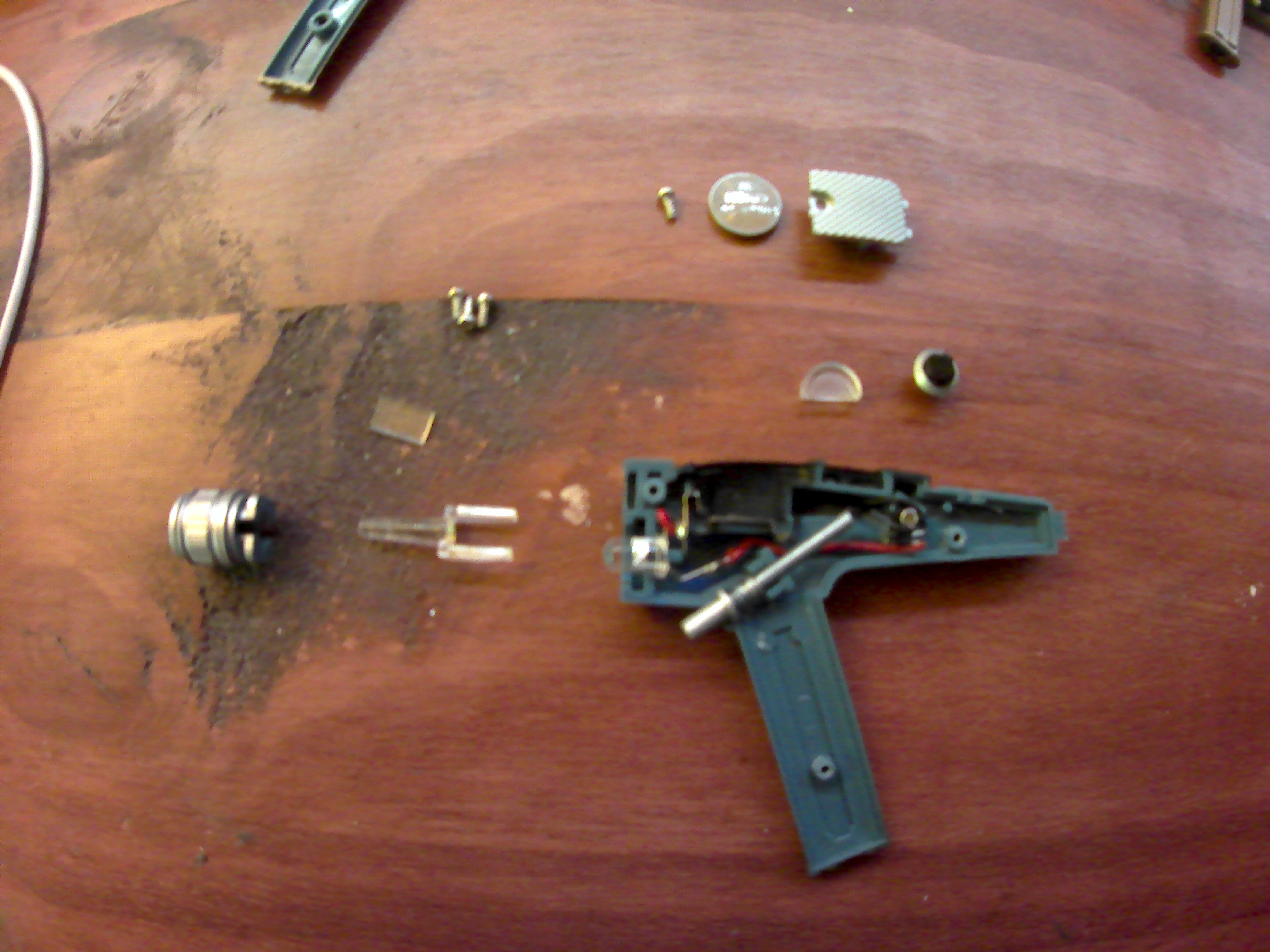 Picture of Disassembly and Removal of Unnecessary Parts