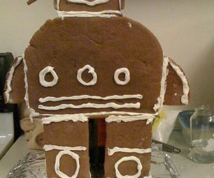 Gingerbread Competition- Sweetest Robot Ever!
