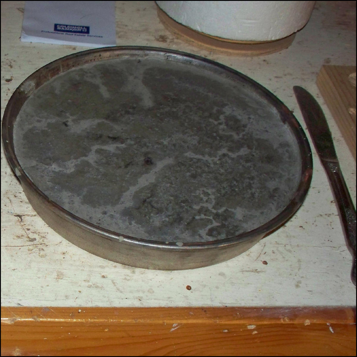 Picture of Pour Concrete Mix Into Form