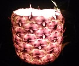 Pineapple Luminaria