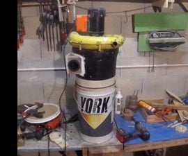 Homemade Cyclone Dust Collector Version 2.0