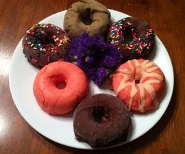 Chocolate Dipped Ice Cream Doughnuts