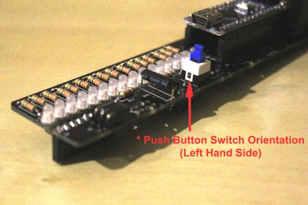 Building the POV Stick Electronic Circuit Boards