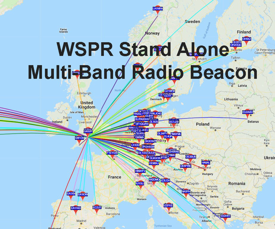 WSPR (Weak Signal Propagation Reporter) Stand Alone Beacon: 22 Steps