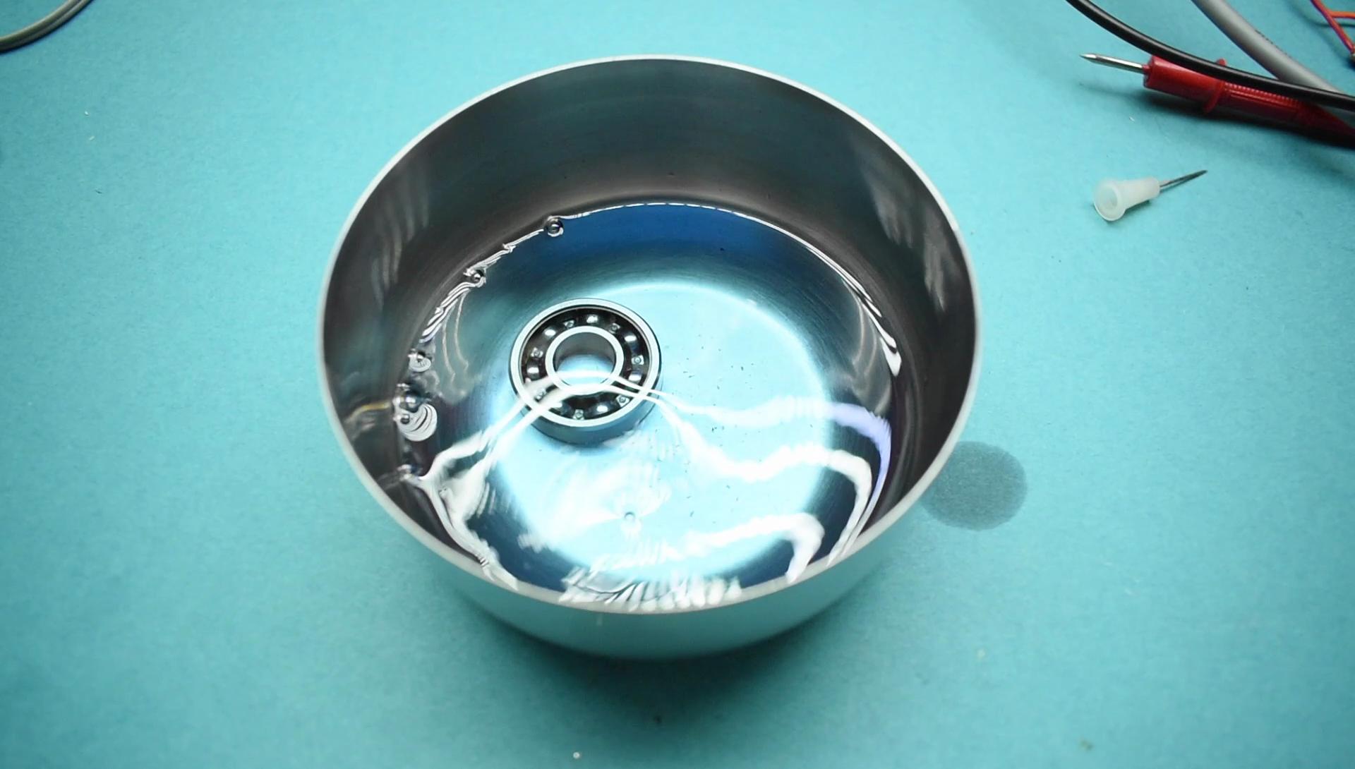 Picture of Refurbishing the Ball Bearing