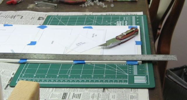Picture of Cut the Pieces Out of the Foamboard