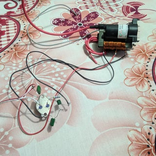 Flyback Transformer Driver for Beginners