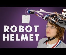 Robotic Helmet That Stops You From Crying