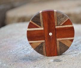 Handmade Union Jack Coaster From Scrapwood!!!