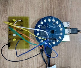 Controlling Lights Using Raspberry Pi Matrix Voice and Snips