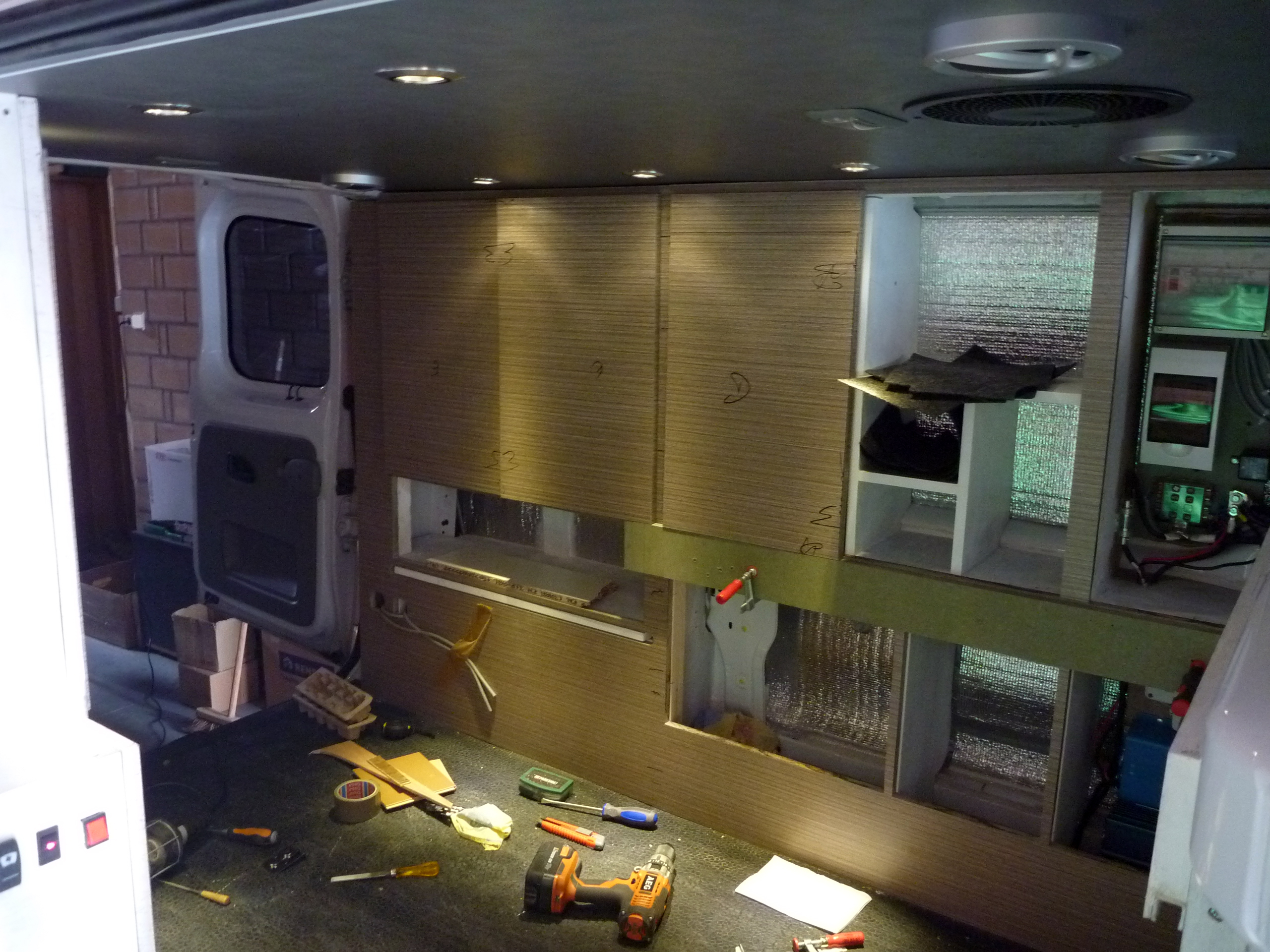 Picture of Installing and Finishing Off