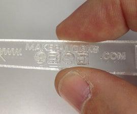 Laser-Cut Lead Bender