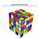 Solving a 5x5 Rubik's Cube