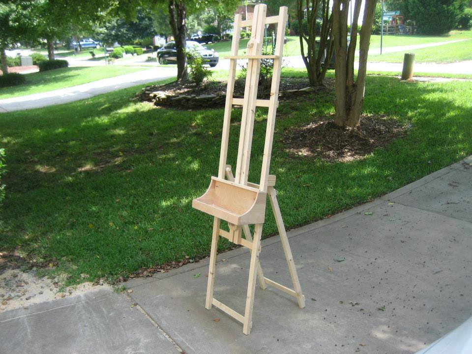 Picture of HOW I BUILT AN ART EASEL FOR FREE