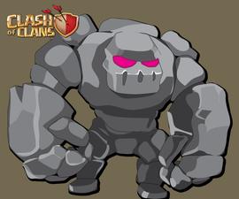 Clash of Clans GOLEM illustration tutorial