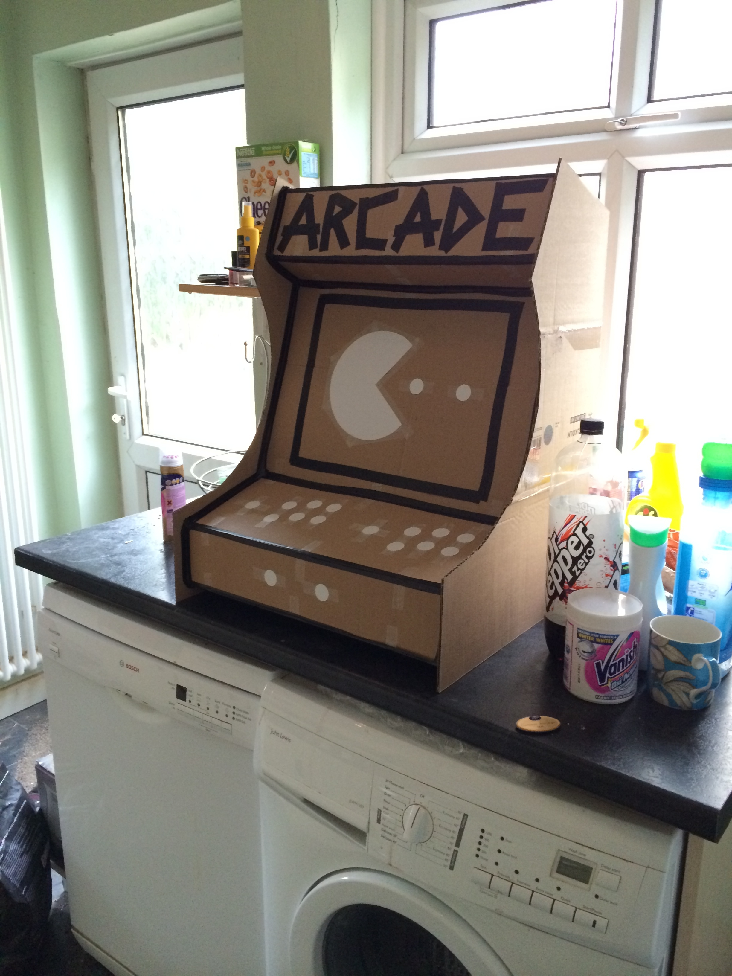 Picture of Cabinet Prototyping