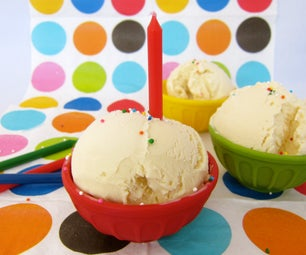 Cake Batter Ice Cream - Cold Stone Copycat Recipe