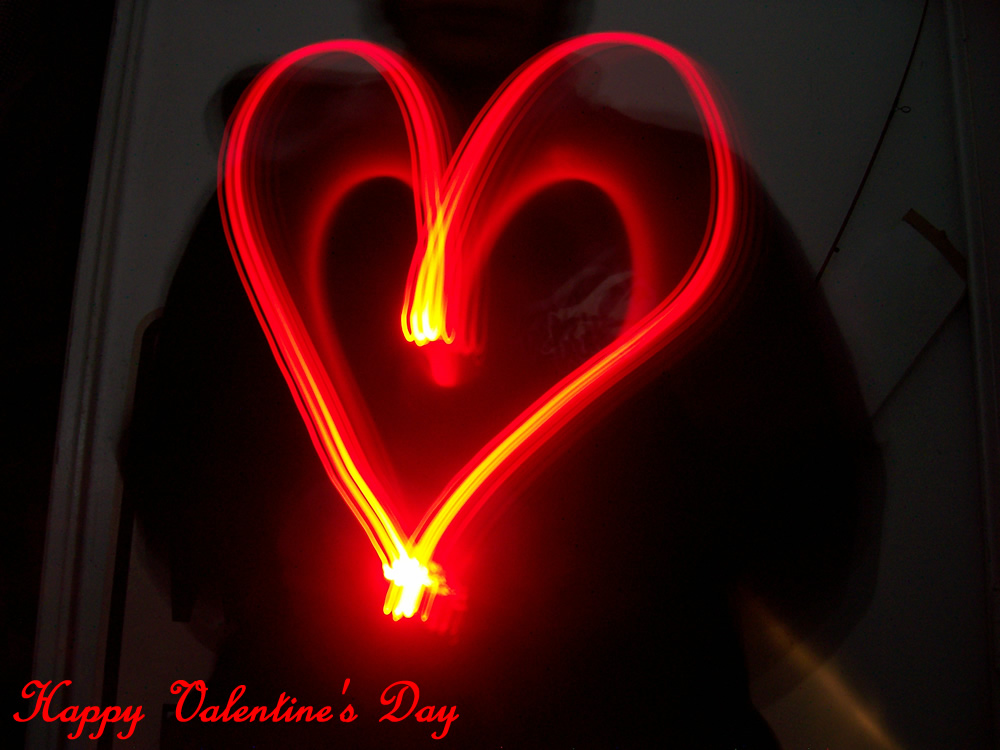 """Picture of """"Beating"""" LED Heart T-Shirt"""