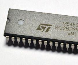 NODEMCU LUA ESP8266 Driving a M5450B7 LED Display Driver IC