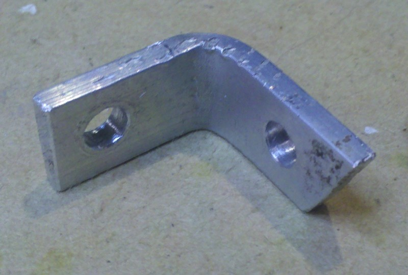 Picture of Making the Frame - Mounting Bracket