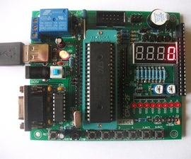 Cheap AVR/51 Development board