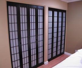 Shoji Screen Closet Doors