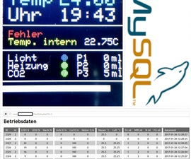 Aquarium Controller III - Logging to MySQL