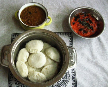 Serve With Hot Idli and Dosai