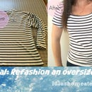 Recycle Clothes: Refashion Thrifty Shirt