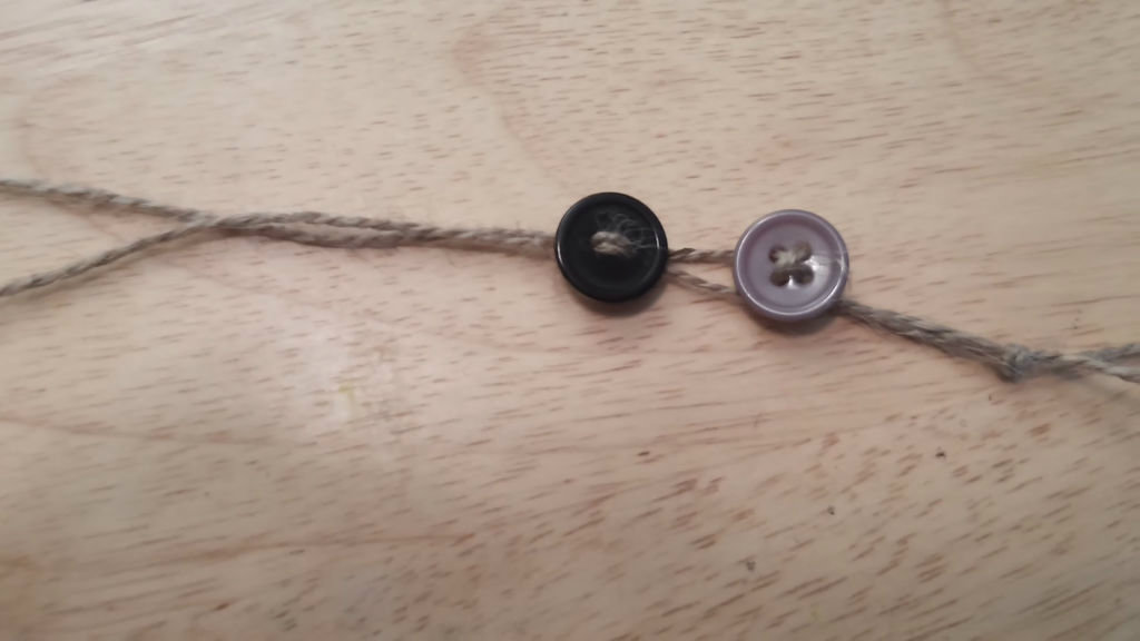 Picture of String on Buttons
