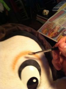Eyes, Eyelashes, and Painting