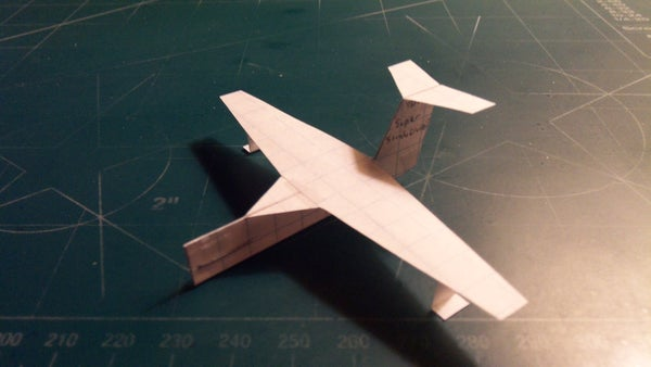 How to Make the Super StratoCruiser Paper Airplane
