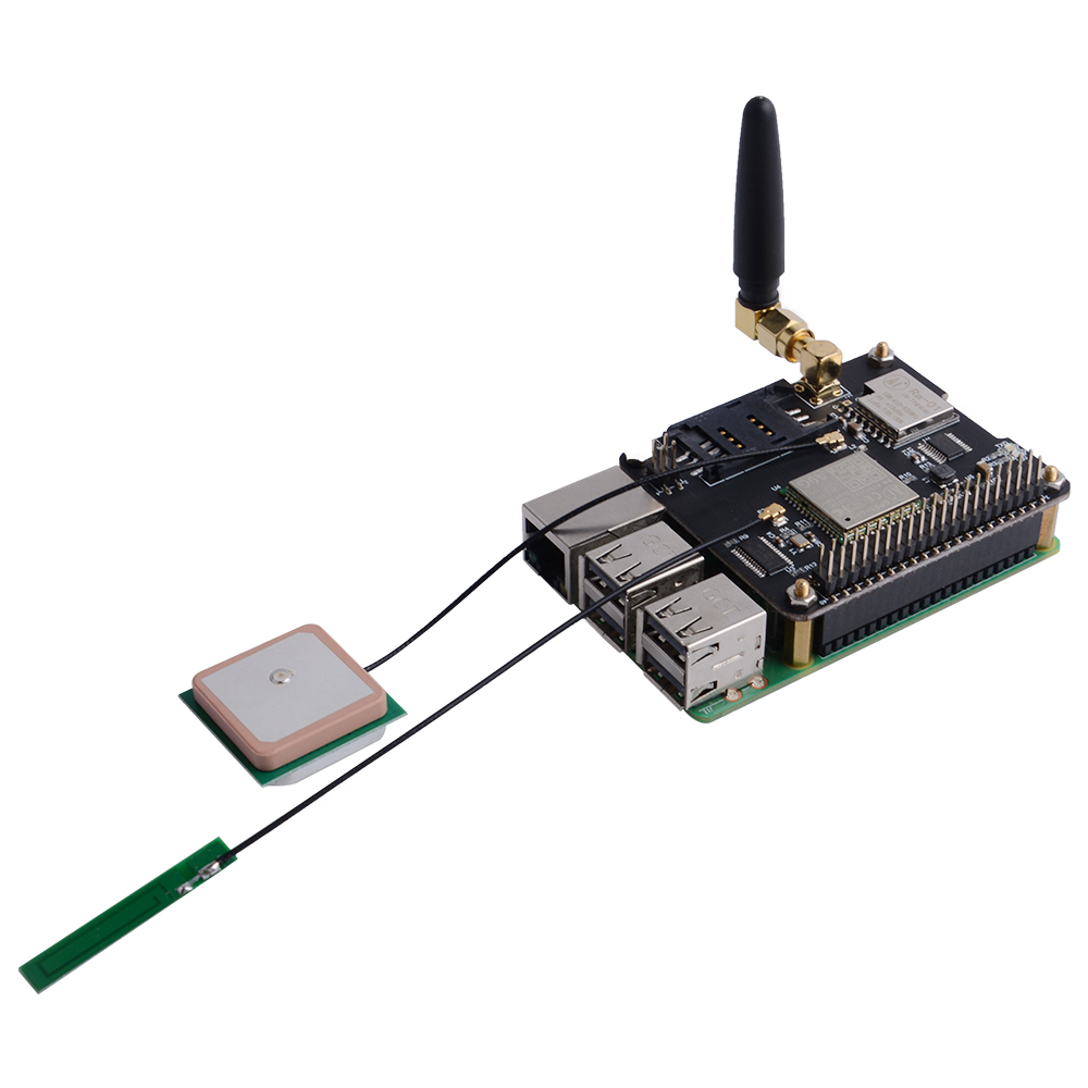 IoT Node A LoRa Radio Module Built-in Antenna for Raspberry Pi 4B //3B+//3B//2B