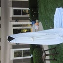Light Up Cloaked Ghost Halloween Decoration