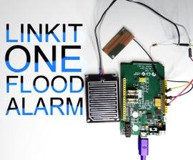 Linkit One Flood Alarm