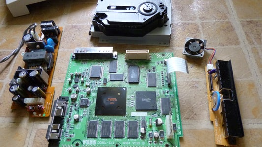 Disassemble the Console