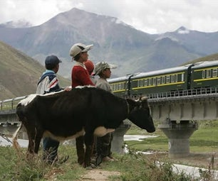 Tibet Train Travel and Adventure