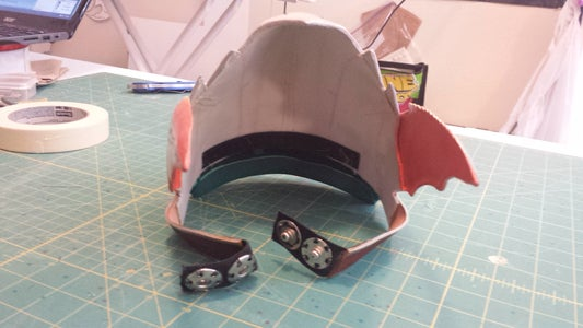 Helm Assembly and Rigging