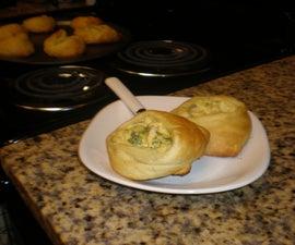 How to Make Broccoli Chicken Pockets
