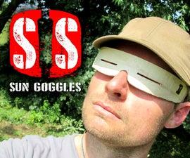 Survive in style (3) - sun goggles