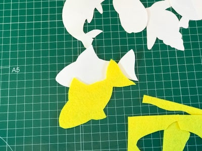 Cut Out Your Forms and Animals From Felt