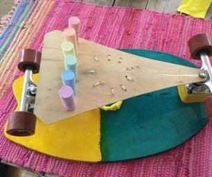 Magic Rainbowwarrior Chalk Board